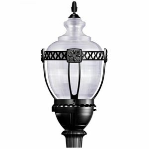 Yosemite Home Decor Adorable 1 Light Street Light series in Black