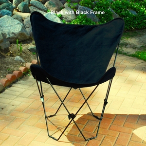 Adorable Foldable Butterfly Steel Framed Chair by Algoma