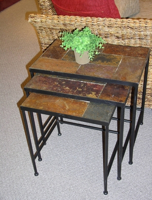 4D Concepts Adorable Set of Three Nesting Tables