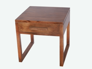 The Urban Port brand alluring Side Table with Single Drawer.