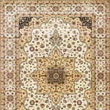 Altay Contemporary Area Rug, Ivory