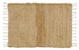 Amazing Burlap Natural Chindi/Rag Rug by VHC Brands