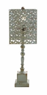 Amazing Styled Fancy Wood Metal Table Lamp - 60131 by Benzara