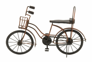 Antique Themed Metal Wood Cycle - 24365 by Benzara