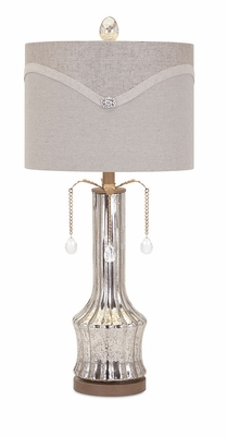 Appealing Bejeweled Table Lamp
