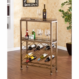 Arabesque Wine Storage Bar by Southern Enterprises