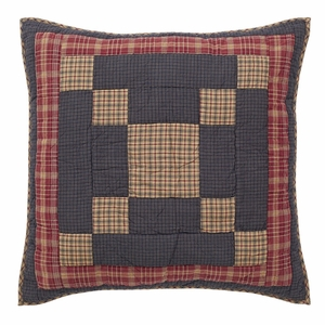 Arlington Quilted Euro Sham 26x26 - 12267 by VHC Brands