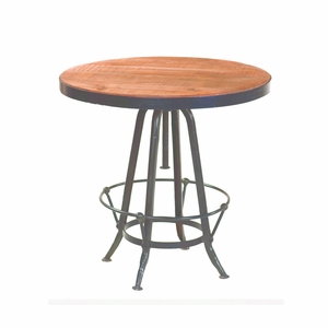 Artistically Styled Pub Table by Yosemite Home decor
