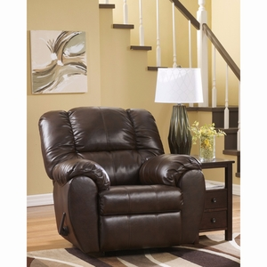 Ashley Dylan Durablend Rocker Recliner in Espresso Durablend [FSD-5699REC-ESP-GG] by Flash Furniture
