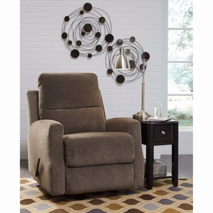 Ashley Fambro Rocker Recliner in Taupe Chenille [FSD-5599REC-TPE-GG] by Flash Furniture