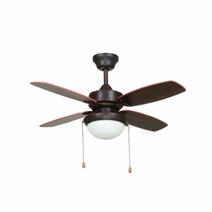 ASHLEY-ORB Ashley Ceiling Fan Collection 36-Inch Indoor Ceili