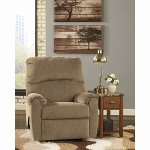 Ashley Pranit Wall Hugger Recliner in Cork Chenille [FSD-7869REC-HUG-CRK-GG] by Flash Furniture