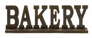 Attention Stealing Wood Bakery Sign - 97295 by Benzara