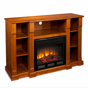 Attractive Kendall Electric Media Fireplace by Southern Enterprises