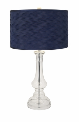 IMAX Attractive Starboard Glass Lamp