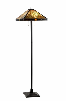 Attractive Tiffany Styled Floor Lamp by Chloe Lighting