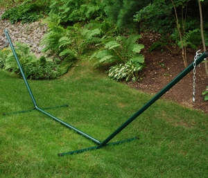 Attractively Styled 15' Hammock Steel Stand by Algoma