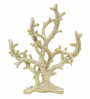 Attractively Styled Resin Coral Tabletop
