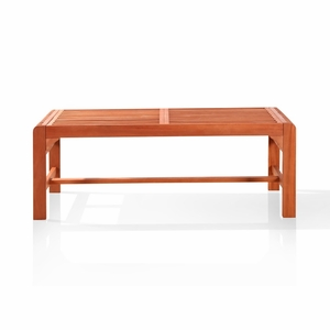 Backless Two Seater Bench by Vifah