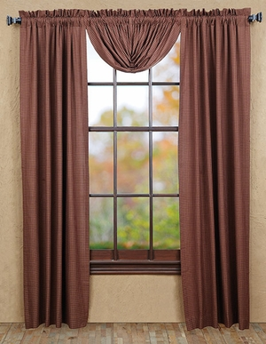 """Bancroft Panel Lined Set of 2 84x40"""" Brand VHC"""