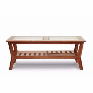 Baxton Studio Kislear Honeyed Veneer Modern Coffee Table