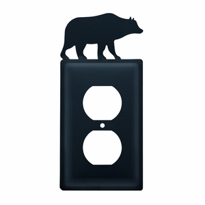 Bear - Single Outlet Cover