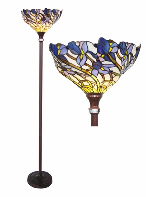 Beautiful and Delightful Torchiere Floor Lamp by Chloe Lighting