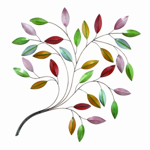 Metal Leaf Wall Decor A Natural Beauty - 64250 by Benzara
