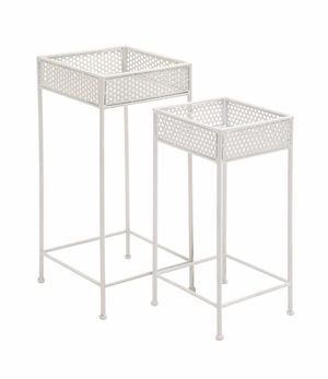 Beautiful Styled Metal Plant Stand - 96992 by Benzara