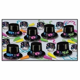 Beistle Neon Party Favors, Assortment for 50
