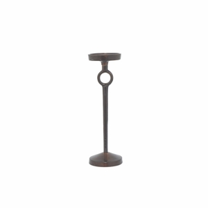 "Benzara 14.5"" Metal Aluminium Candle Holder - 82737 by BENZARA"