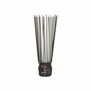 "Benzara 14"" Metal Twig Candle Holder - 82743 by BENZARA"