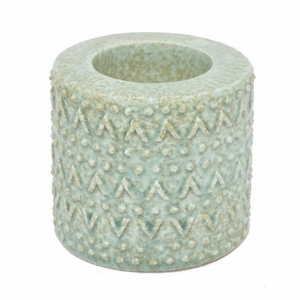 "Benzara 33425 4.25"" Ceramic Candle Holder - 33425 by BENZARA"