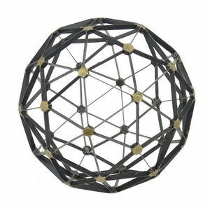 Benzara 46966 Adorable Metal Table Decoration orb