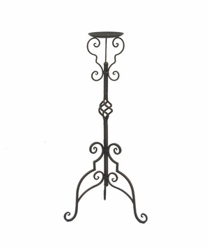 "Benzara 58737 30"" Metal Candle Holder - 58737 by BENZARA"