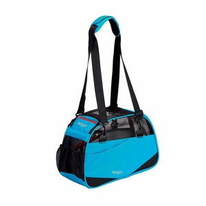 Bergan Voyager Pet Carrier Small Bright Blue 12x 8x 17 Inch