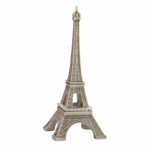Best PS Silver Eiffel Tower - 62494 by Benzara