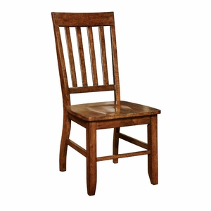 Betty 2 PC Slat Back Country Style Side Chair