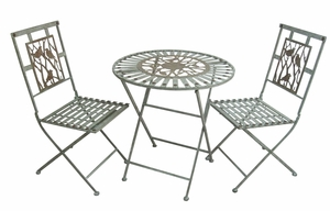 Birds on Branches Bistro Set (1 table and 2 chairs) by Alpine Corp
