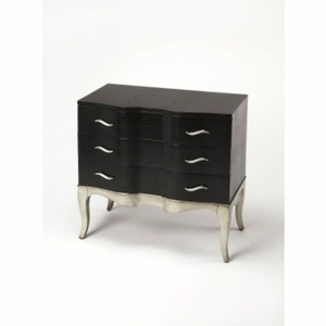 Butler Black Console Chest