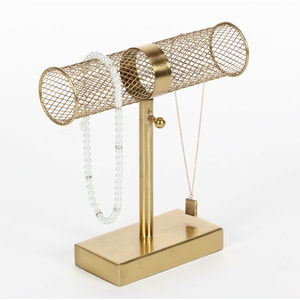 Blonde Colored Bar Jewelry Holder - 57368 by Benzara