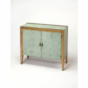 Butler Blue Console Cabinet