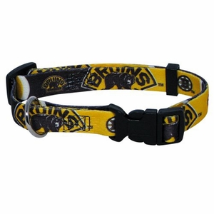 Boston Bruins Dog Collar Medium