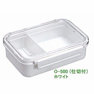 Bp Vive Lunch Box (O-500lv) White