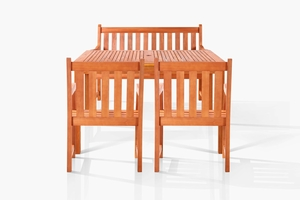 Brainerd Four-Seater Dining Set by Vifah