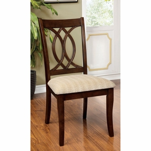 Braxton 2 PC Fabric Upholstered Side Chair