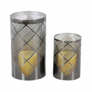 Breath-Taking Candle Holder, Set Of 2 - 57362 by Benzara