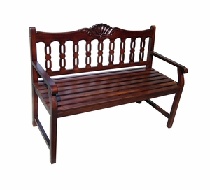Bremen Bench Carved Home Decor by D-Art