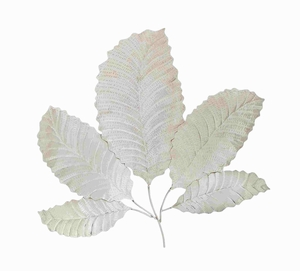Beautiful And Gorgeousdecorative Stainless Steel Leaf Walldecor - 38088 by Benzara