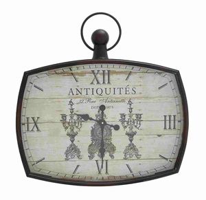 Kin-Kin Artistic Wall ClockDecor - 52529 by Benzara
